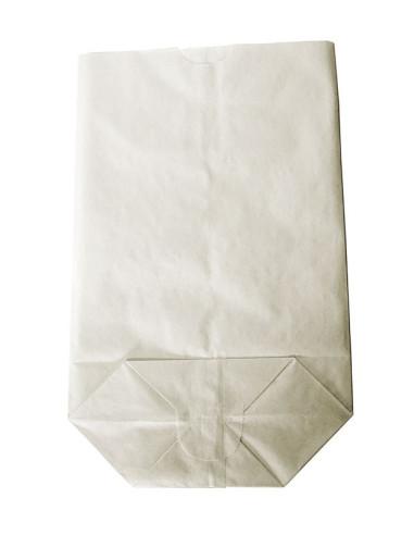 1000 Sacs écornés n°6 kraft blanc 500gr farine