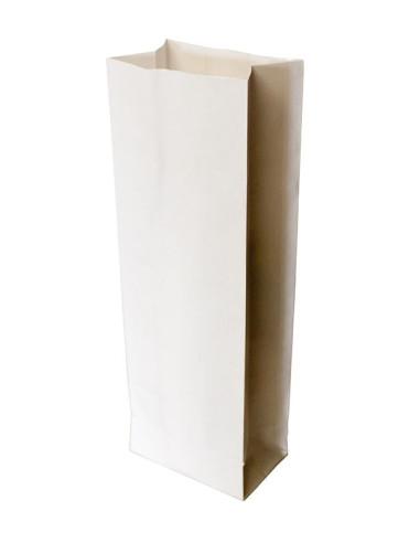 1000 Sacs SOS kraft blanc 1kg farine 10,5 + 6,5 x 29 cm
